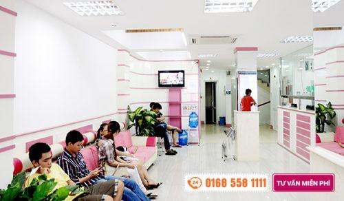 Phòng khám chữa tiểu buốt tiểu rắt ở nữ giới