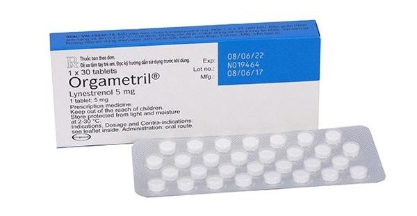 Thuốc tránh thai Lynestrerol – Orgametril có tác dụng gì? giá bao nhiêu?